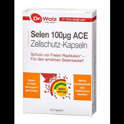 Selen 100 μg ACE Zellschutz-Kapseln Dr. Wolz 60 St.