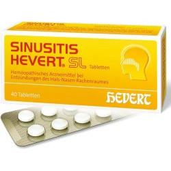 SINUSITIS HEVERT SL Tabletten 40St