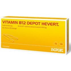 VITAMIN B12 DEPOT HEVERT Ampullen 10x2ml