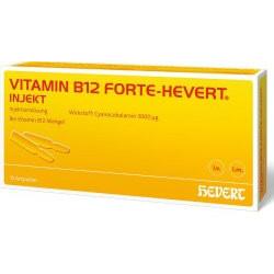 VITAMIN B12 FORTE-HEVERT INJEKT Ampullen 10X2ml