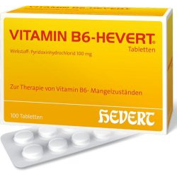 VITAMIN B6-HEVERT Tabletten 100St