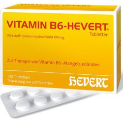 VITAMIN B6-HEVERT Tabletten 200St