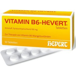 VITAMIN B6-HEVERT Tabletten  50St