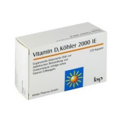 Vitamin D3 Köhler 2000 IE Kapseln 120St
