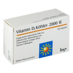 Vitamin D3 Köhler 2000 IE Kapseln 60St