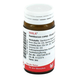 Sambucus comp. Globuli velati WALA 20 g