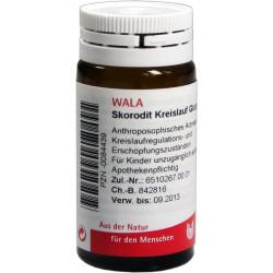 Skorodit Kreislauf Globuli velati WALA 20 g