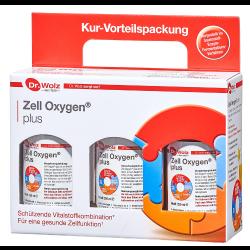 Zell Oxygen plus, flüssig Dr. Wolz 3 x 250 ml